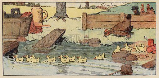 Illustration for Chantecler by Benjamin Rabier (Jules Tallandier, 1919).