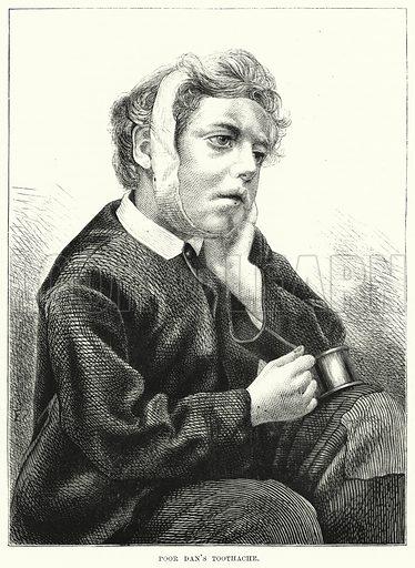Poor Dan's Toothache. Illustration for The Children's Friend (1872).