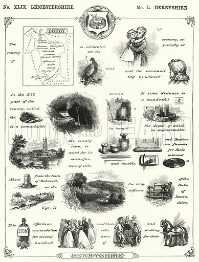 Derbyshire. Illustration for The Children