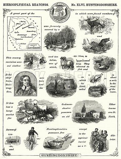 Huntingdonshire. Illustration for The Children's Friend (1872).