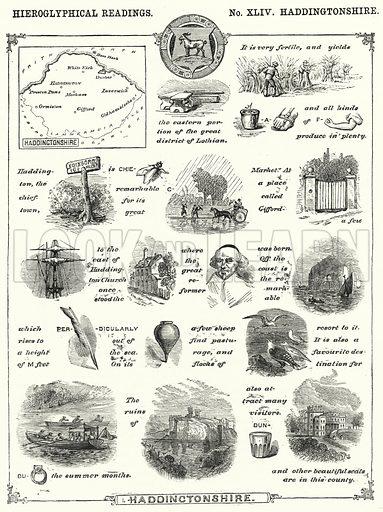 Haddingtonshire. Illustration for The Children's Friend (1872).