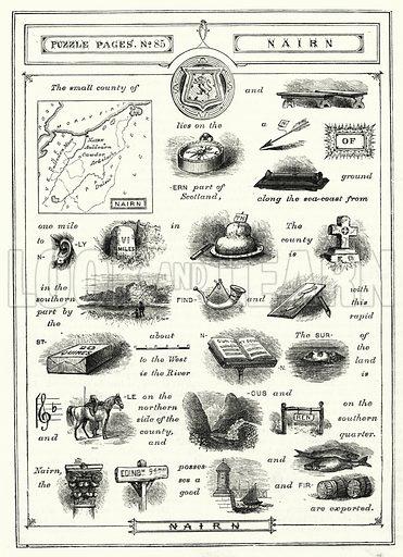 Nairn. Illustration for The Children's Friend (1881).