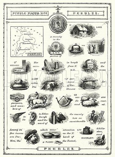 Peebles. Illustration for The Children's Friend (1881).