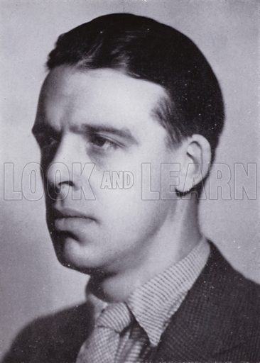 Ian Whyte. Illustration for Conductors' Gallery by Donald Brook (Rockliff, 1945).  Photo credit: BBC.