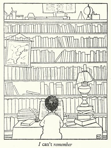 I can't remember. Illustration for Crusaders by Hugh Chesterman (Shakespeare Head Press, 1946).