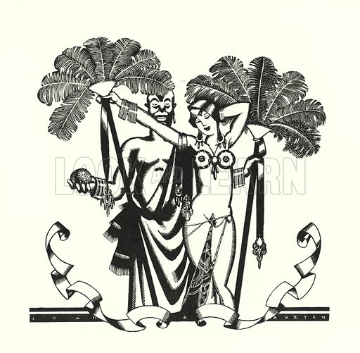 Illustration for Don Juan by Lord Byron