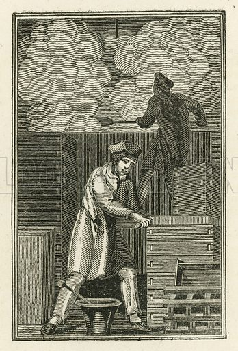 The Soap-Boiler. Illustration for The Book of English Trades and Library of the Useful Arts (new edn, J Souter, 1818).
