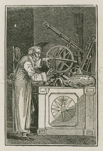 The Optician. Illustration for The Book of English Trades and Library of the Useful Arts (new edn, J Souter, 1818).