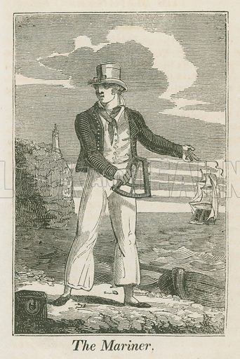 The Mariner. Illustration for The Book of English Trades and Library of the Useful Arts (new edn, J Souter, 1818).