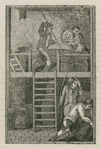 The Brewer. Illustration for The Book of English Trades and Library of the Useful Arts (new edn, J Souter, 1818).