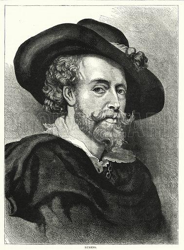 Peter Paul Rubens. Illustration for The Family Friend (1877).