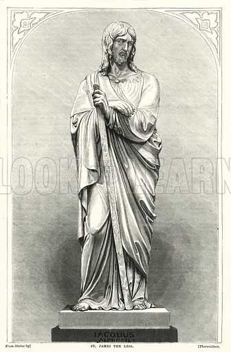 St James the Less. Illustration for The Family Friend (1877).