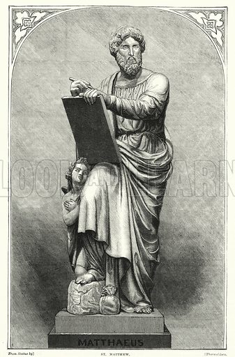 St Matthew. Illustration for The Family Friend (1877).