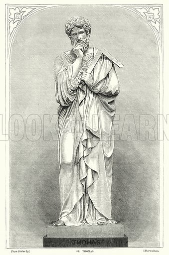 St Thomas. Illustration for The Family Friend (1877).