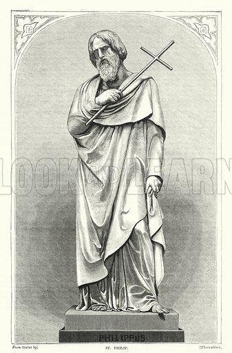 St Philip. Illustration for The Family Friend (1877).