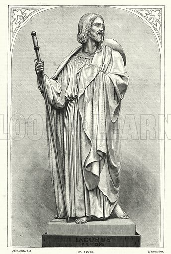St James. Illustration for The Family Friend (1877).