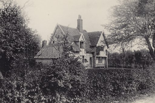 Constable's House. Illustration for a booklet of views of Felixstowe (J E Law, c 1895). Gravure-printed.