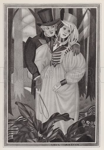 """""""It is wrong of me! wrong, wrong!"""" she cried """"it is madness of me to listen to you."""" Illustration for Madame Bovary, A Story of Provincial Life, by Gustave Flaubert (John Lane The Bodley Head, 1928)."""