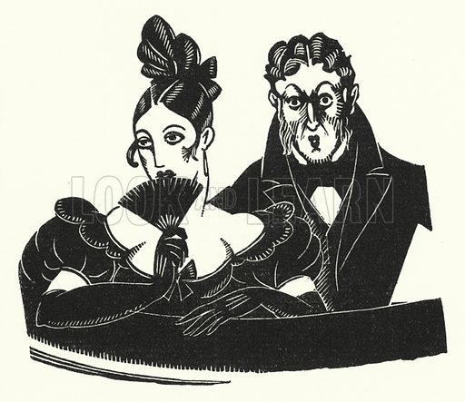 Illustration for Madame Bovary by Gustave Flaubert