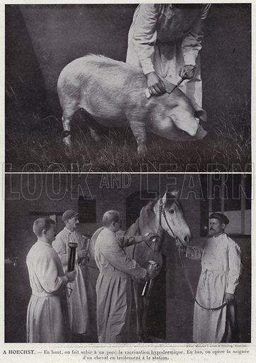 A Hoechst. Illustration for L'Allemagne Moderne by Jules Huret (Pierre Lafitte, 1913).