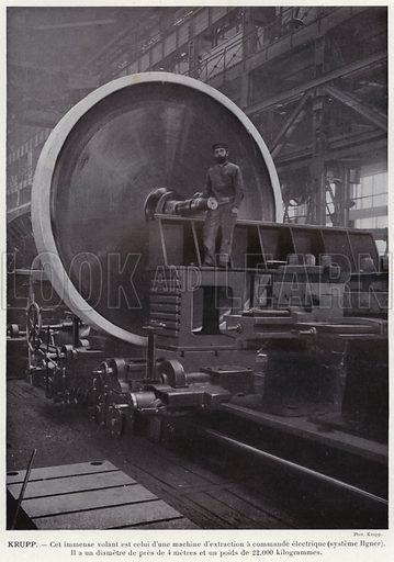Krupp. Illustration for L'Allemagne Moderne by Jules Huret (Pierre Lafitte, 1913).