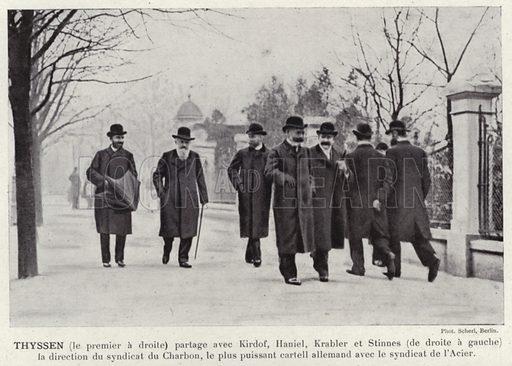 Thyssen. Illustration for L'Allemagne Moderne by Jules Huret (Pierre Lafitte, 1913).