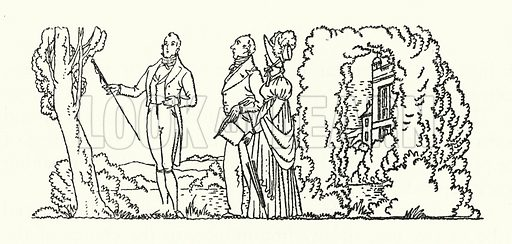 Illustration for Persuasian by Jane Austen (Book Society, 1944).