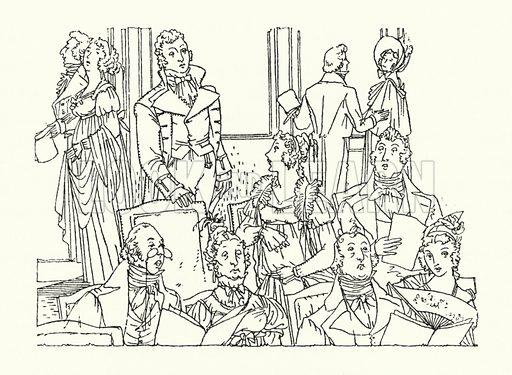 Illustration for Persuasian by Jane Austen (Book Society, 1944).