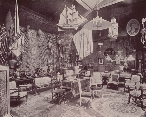 "The Atelier of M Poilpot. Illustration for Beautiful Paris with over 400 views taken by Mr A Pepper, Official Photographer of the French Government, with introduction by J W Buel (Arkell Weekly, 1894).  No further info found on ""Mr A Pepper""."