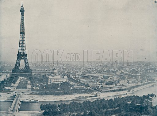 "Panorama of Paris, from the Trocadero. Illustration for Beautiful Paris with over 400 views taken by Mr A Pepper, Official Photographer of the French Government, with introduction by J W Buel (Arkell Weekly, 1894).  No further info found on ""Mr A Pepper""."