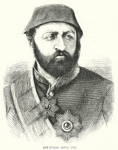 The Sultan Abdul Aziz. Illustration for The British Workman, 2 September 1867.
