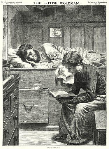 Bob, the Cabin Boy. Illustration for The British Workman, 1 September 1868.