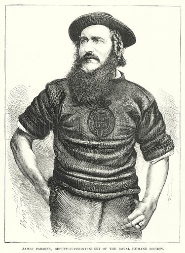James Parsons, Deputy-Superintendent of the Royal Humane Society