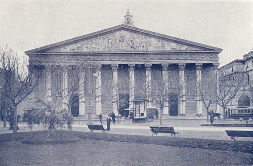 Catedral. Illustration for Buenos Aires Moderno (Libreria Inglesa, Monqaut e Casquez Millan, c 1903).