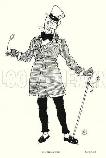 Dickens character: Mr Micawber