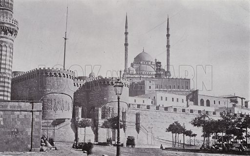 Citadel of Cairo. Illustration for Souvenir of Egypt (George Ch Dovas, 1898).