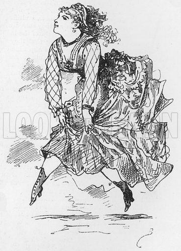 Illustration for The Assommoir, A Realistic Novel, by Emile Zola (Vizetelly, 1885).