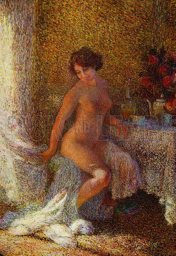 Rayon de soleil. Illustration for La Beaute De La Femme Dans L'Art by Boyer D'Agen (I Lapina, c 1910).