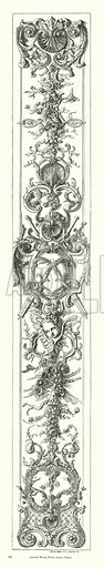 Carved Wood, Notre Dame, Paris. Illustration for The Characteristics of Styles, An Introduction to the Study of the History of Ornamental Art, by Ralph N Wornum (8th edn, Chapman and Hall, 1893).