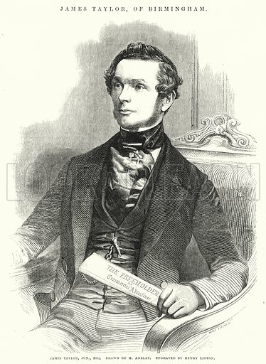 James Taylor. Illustration for The Illustrated Exhibitor and Magazine of Art (John Cassell, 1852).