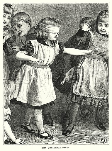 The Christmas Party. Illustration for The Infant