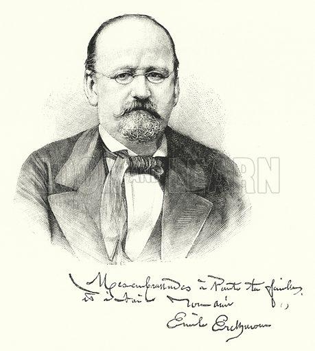 Erckmann-Chatrian. Illustration for The Leisure Hour (1891).