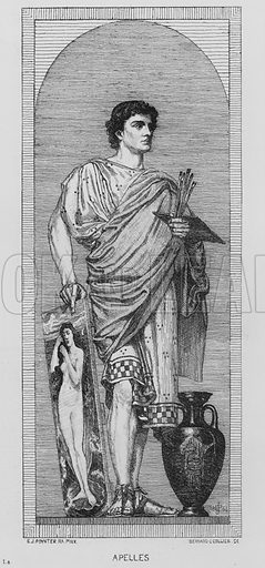 Apelles. Illustration for The South Kensington Museum, Examples of the Works of Art in the Museum and of the Decorations of the Building with Brief Descriptions (1881).