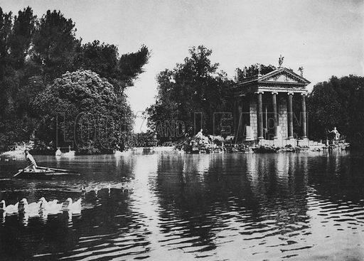 Villa Borghese o Umberto I, Il Tempietto d