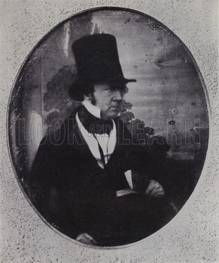 William Henry Fox Talbot, about 1852. Illustration for Victoria Photography by Alex Strasser (1942).