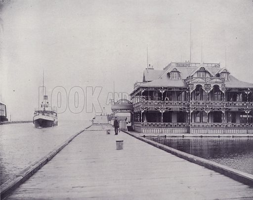 Royal Hamilton Yacht Club. Illustration for Canada, Photographic Views of Our Country (Art Company, c 1895).