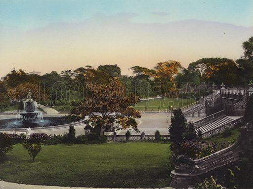 New York: Central Park, Bethesda Fountain and Terrace