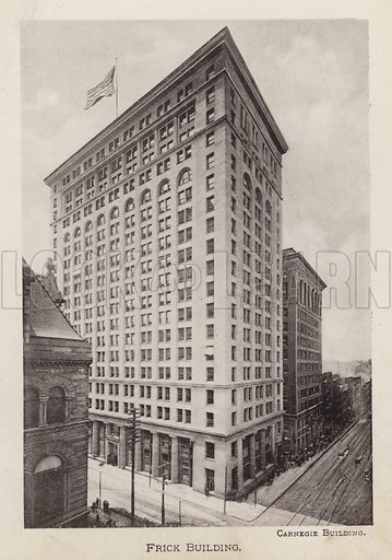 Frick Building. Illustration for Souvenir of Pittsburgh, Pa (np, c 1895).