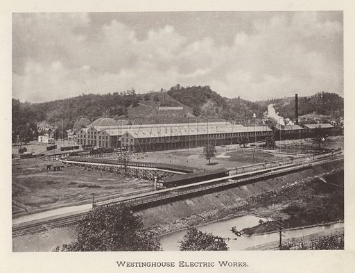 Westinghouse Electric Works. Illustration for Souvenir of Pittsburgh, Pa (np, c 1895).