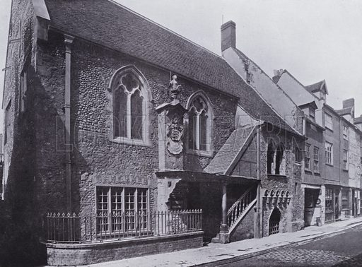 The Tolhouse, Yarmouth. Illustration for Photographic View Album of Yarmouth and District (Valentine, c 1895).